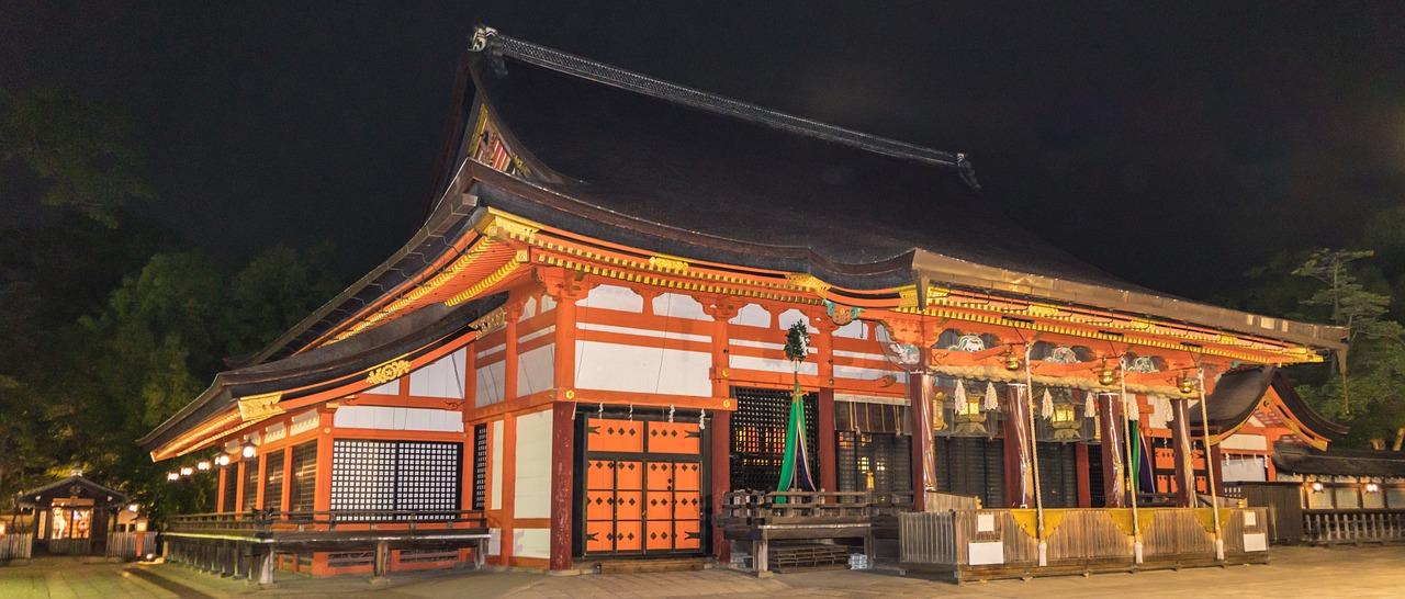 京都の歴史的で伝統的な建物