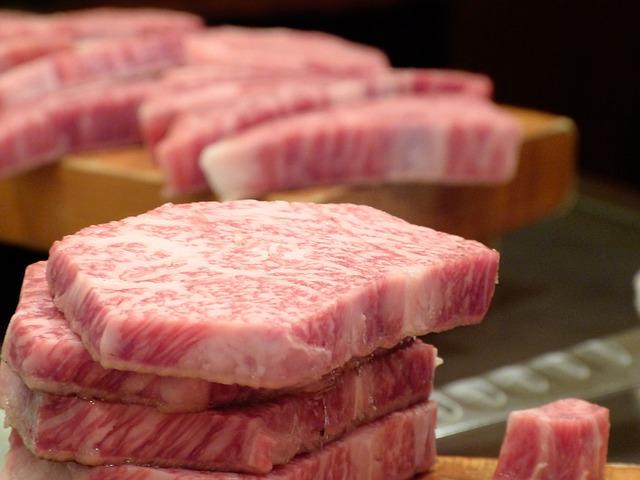 日本の牛肉